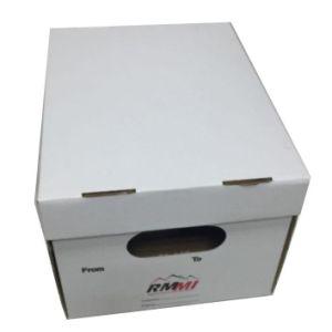 Pas het Bewegende Vakje van het Document van het Vakje van de Opslag van het Karton voor het Verschepen aan