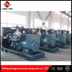 Flüssiges Quarzsteuerung des leisen Computer-300kw/375kVA koreanisches Doosan Dieselgenerator-Set