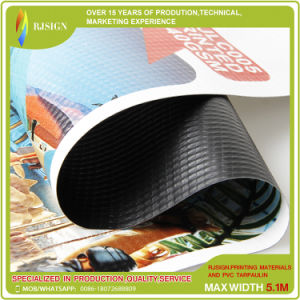 AdvertizingのためのBlockout Curtain PVC Banner Printing Material