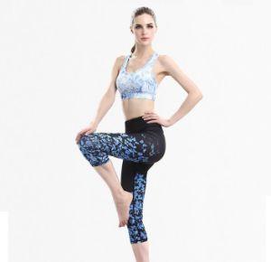 ba0d88b7bf48 Señoras Pantalones altos de spandex y ropa deportiva Fitness mallas Legging  de desgaste