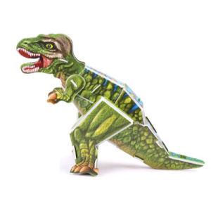 Jouets éducatifs Animal 3D de papier de bricolage pour les enfants de puzzle