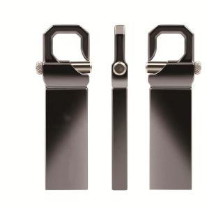 Metal unidad Flash USB 2GB 4GB 8GB 16GB 32 GB 64 GB con llavero Logo U disco