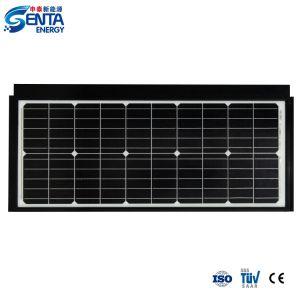 Venta al por mayor de 55 W/Mono Panel Solar monocristalino de sistema de energía del módulo de potencia fotovoltaica