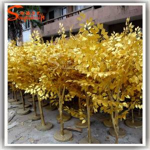 Holiday Decoration Jardim das plantas de Ficus Banyan Tree