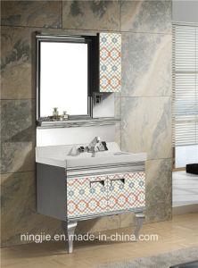 Armário de casa de banho de aço inoxidável (T-957)