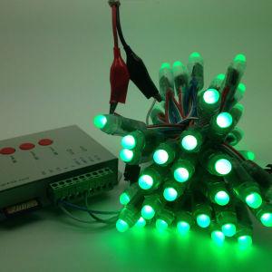 Ws2811 indicatore luminoso leggiadramente della stringa della decorazione variopinta esterna di natale del pixel LED
