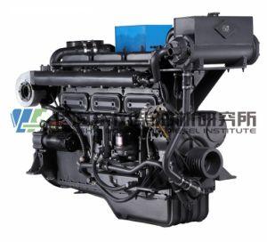 Mariene Dieselmotor, 135 Reeksen, 178.2kw, 4-slag, Met water gekoelde, Directe Injectie, Gealigneerd, de Dieselmotor van Shanghai Dongfeng voor de Reeks van de Generator, Chinese Motor
