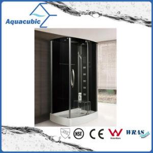Masaje completo cuarto de ducha computarizado de vidrio templado (como-TS58)