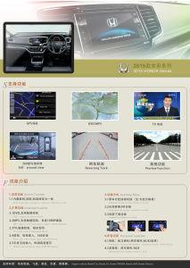 Azionamento destro! ! ! Automobile Interface Navigation System per la città della Honda, Fit, Odyssey Right 2014 Driving