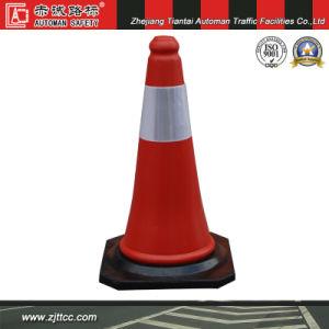 50cm de l'Algérie en plastique orange standard de la sécurité du trafic cône (CC-A01)