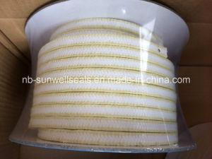 Sunwell P306 White PTFE Packing con Aramid Corners
