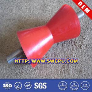 Plastiköl-Nylonrolle mit Stahlpeilung