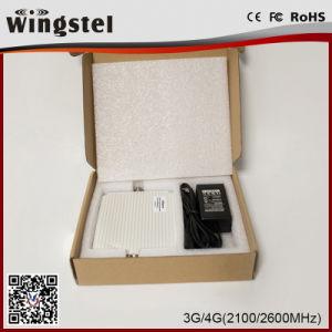 De nieuwe Repeater Lte van het Signaal van het Signaal Amplifier/2100/2600MHz van de Band van de Manier Dubbele Hulp voor het Gebruik van het Huis
