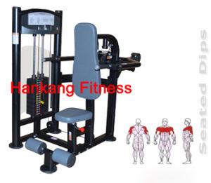 Strumentazione di forma fisica, macchina della costruzione di corpo, pressa del TUFFO - PT-806