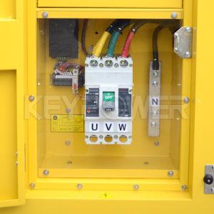 100kVA Cumminsのディーゼル機関およびStamfordの交流発電機によって動力を与えられる健全な証拠のタイプディーゼルGenset