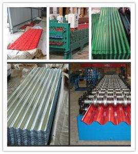 建築材料はPre-Painted電流を通された波形の鋼板(屋根ふきシート)を