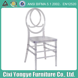 Party Wedding Use를 위한 명확한 Stackable 피닉스 Chair