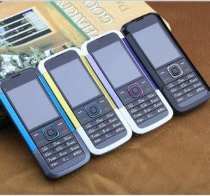 Telefono mobile della macchina 5000 delle cellule del telefono del telefono diritto ultrasottile di GSM