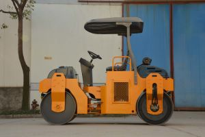 China Machines van de Bouw van de Wegwals van 3 Ton de Trillings