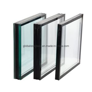 4+12+4mm Cristal Térmico de Cristal de construcción/// Lamianted de vidrio templado vidrio cristal de la UGI/// de baja el vidrio de muros cortina cristal aislante E/ Vidrio de ventana