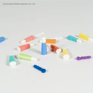 Médicaux jetables Lancet Lancettes de sécurité du sang en plastique
