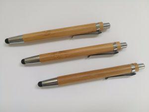 접촉 (E2001B)를 가진 대나무 볼펜