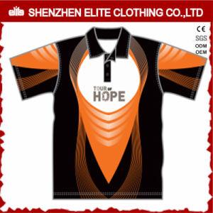 Promotion des sports d'impression par sublimation Short Sleeve chemise de golf de polyester (ELTMPJ-306)