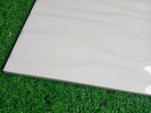 Het Materiële Nieuwe Ontwerp van Buidling, Onda de Blanco Verglaasde Ceramische Tegel van de Muur (300*600mm)