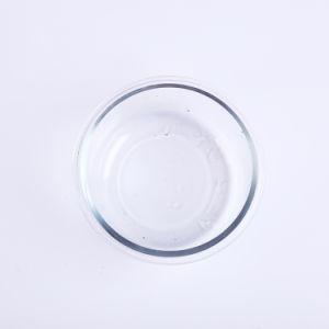 Utilizável de microondas Lunch Box de vidro Recipiente Alimentar 620ml