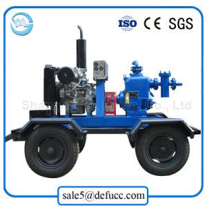 3 pouces de moteur Diesel Pompe centrifuge à amorçage automatique