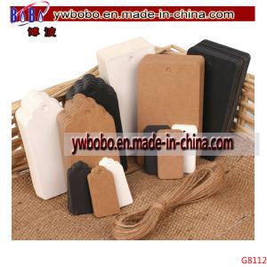 De Gift van het Document van Kraftpapier van Eco etiketteert het Etiket van de Kaart afdrukte Etiketten (G8112)