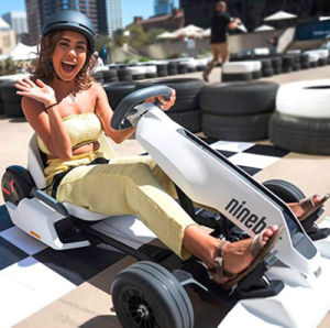 2019 Stock Electric Gokart Bot nueve F1 el mejor nunca