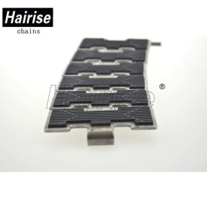 Hairise antidérapantes plats en acier inoxydable de haute qualité haut de la chaîne du convoyeur