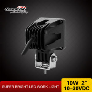 10W ATV Offroad CREE Faros LED Lámpara de Trabajo 6101