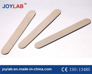 Divaricatore di linguetta di legno medico a gettare, sterile o non sterile