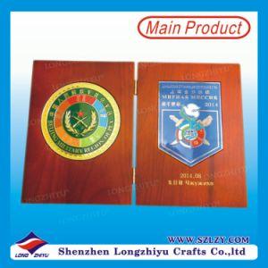 Trofeo del libro di legno di pino del premio di impresa dell'esercito