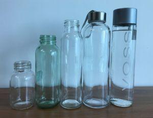 200ml Glaskolben-Glasflasche des alkohol-Bottle/200ml