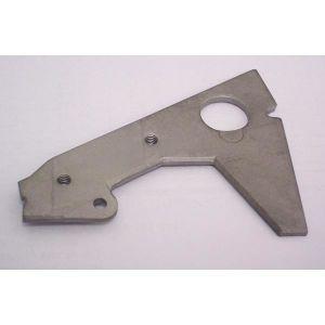 Pièces de tôle en aluminium l'Estampage de perforation