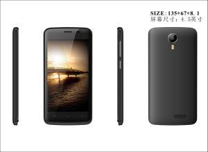 4.6 '' 1300mAh 3G Smartphone T5 White/Black