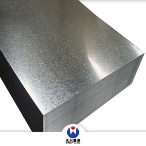 Piatto galvanizzato ricoperto zinco tuffato caldo laminato a freddo della lamiera di acciaio