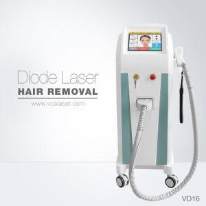 Permanente Diod vertical 808 Máquina de eliminación de vello con láser