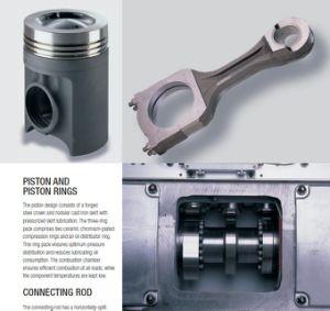 CNC die het Mariene Deel Uit gegoten staal van de Dieselmotor machinaal bewerken