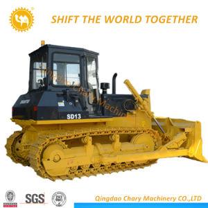 Capacidade Bulldozer Shantui 3,7 m DP13 Bulldozer Trator de Esteiras