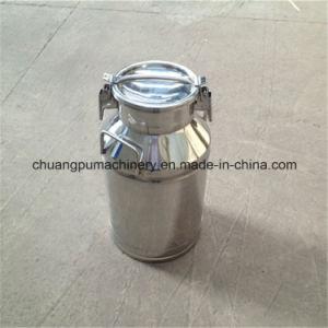 Leite em aço inoxidável, 20L balde de leite