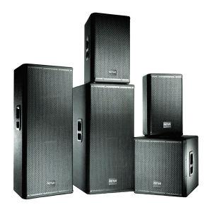 """Lautsprecher-Systems-hochwertiges PRO2wegaudio des Doppelt-15 """" draußen (SRX-725)"""