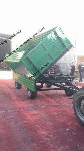 De aanhangwagens bewerken Hydraulische Aanhangwagen voor Tractoren op Verkoop