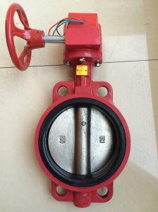 Lidar com capas/trincheira do Sinal de controle da válvula de borboleta contra incêndios
