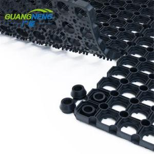 Gran Agujero negro de alta calidad Antideslizante alfombra de césped hueco