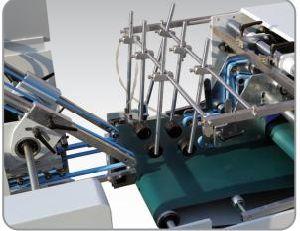 Carpeta Gluer Xcs-650PF de máquina de hacer caja de cartón corrugado