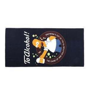 高品質の綿のスポーツの卸売のカスタムビーチタオル